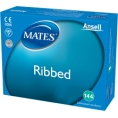 Click for more info about Mates Ribbed Condoms (singles)
